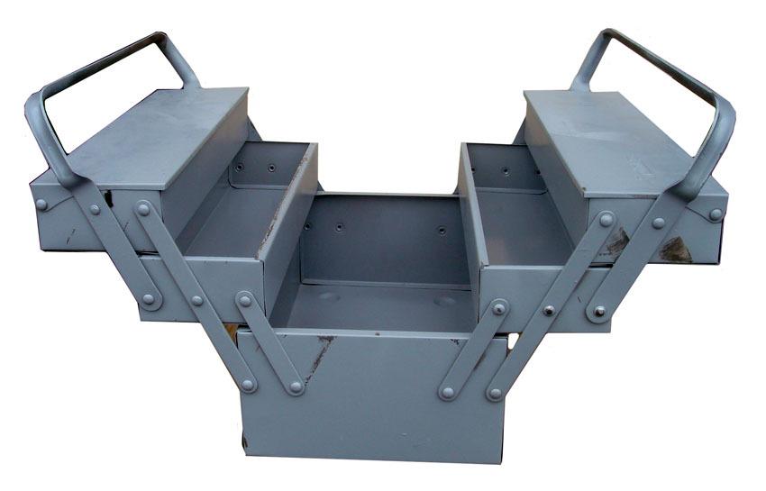 Ящик для инструментов из металла своими руками